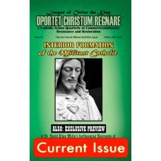 Oportet Christum Regnare - Issue 16 - Winter 2017-2018