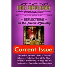 Oportet Christum Regnare - Issue 17 - Spring 2018