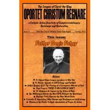 Oportet Christum Regnare - Issue 15 - Fall 2017